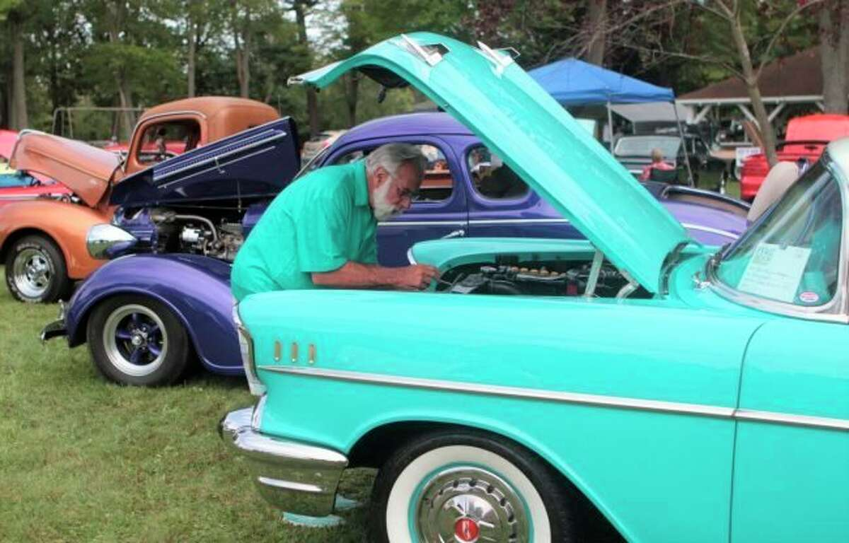 Evart Car Club has hosted a car show for 26 years. Due to COVID-19 restrictions the 2020 and 2021 shows were cancelled. (Pioneer file photo)