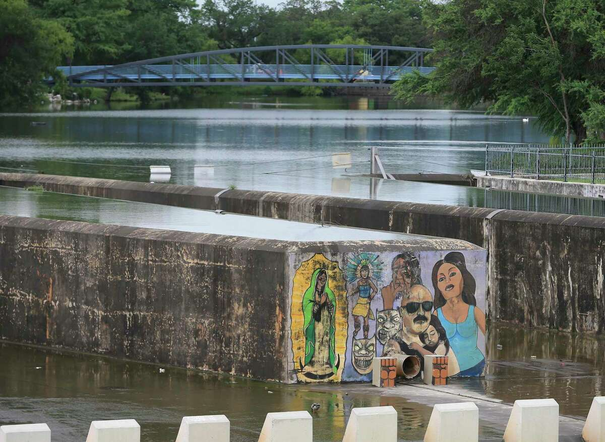 Works of art can be seen on the dam at Lake Elmendorf.  The San Antonio River Authority has confirmed President Joe Biden's budget inclusion of $ 2.34 million for engineering and design work on the Westside Creeks project.
