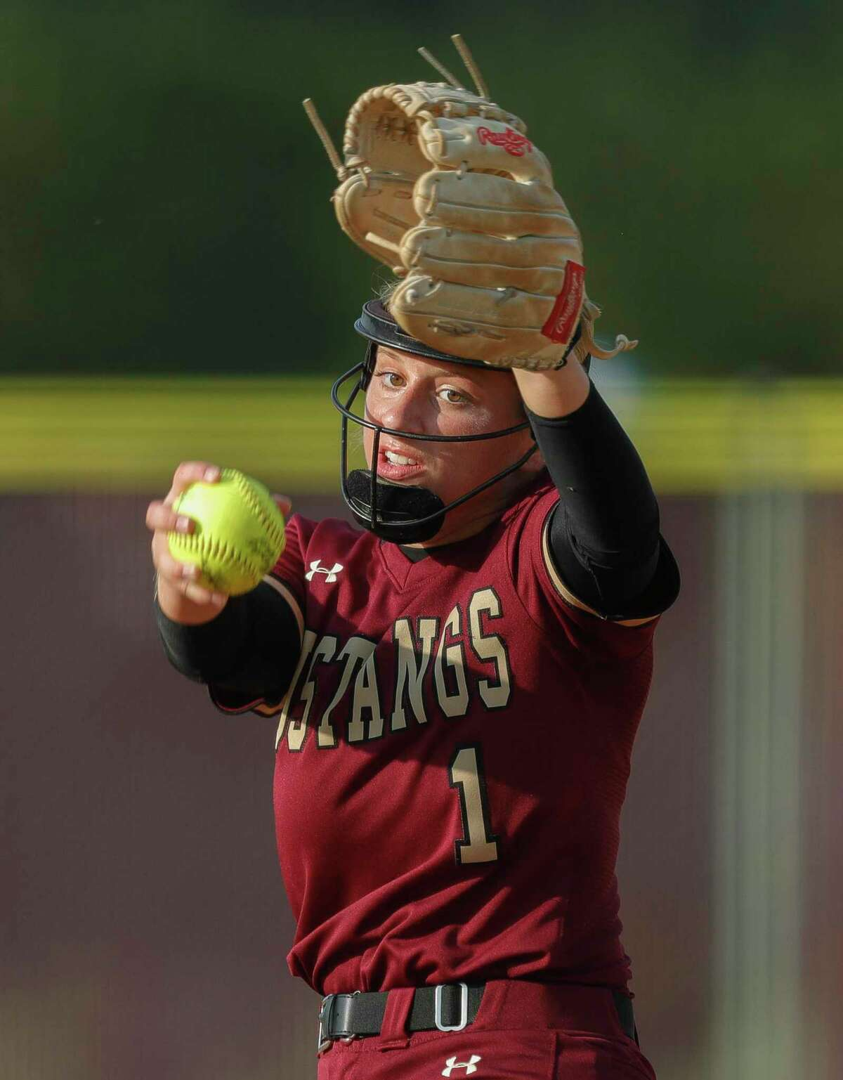 Magnolia West senior Toni Tamborello was named District 19-5A Pitcher of the Year.