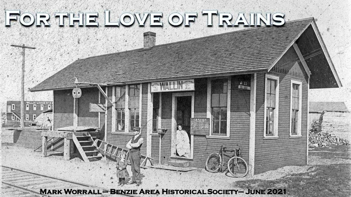 The next Benzonia Academy Lecture will be about Michigan's rail system past and present. (Courtesy image)