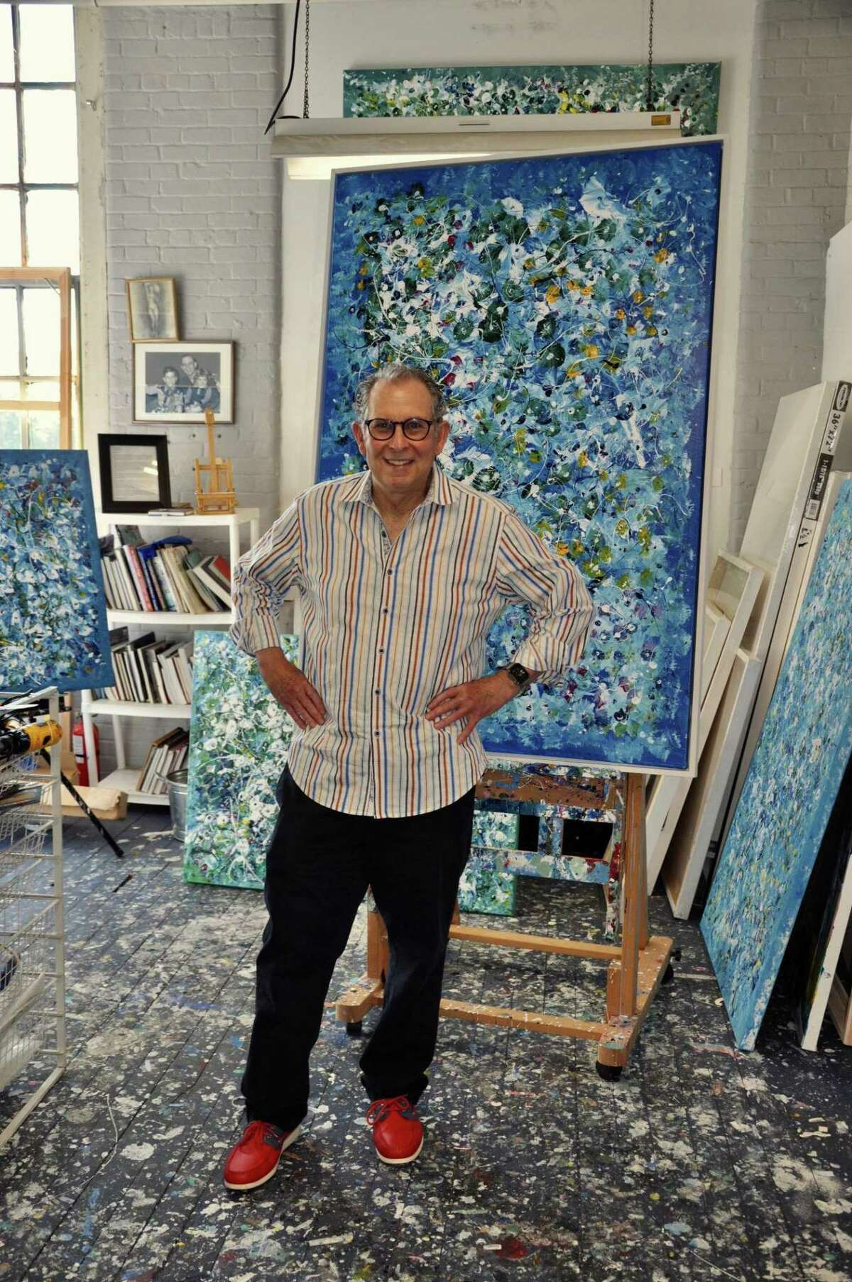 Mark Schiff is a retired dentist and painter.