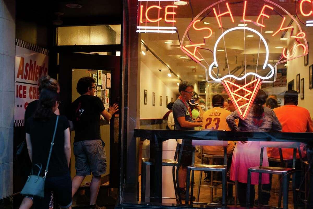 Ashley's Ice Cream.