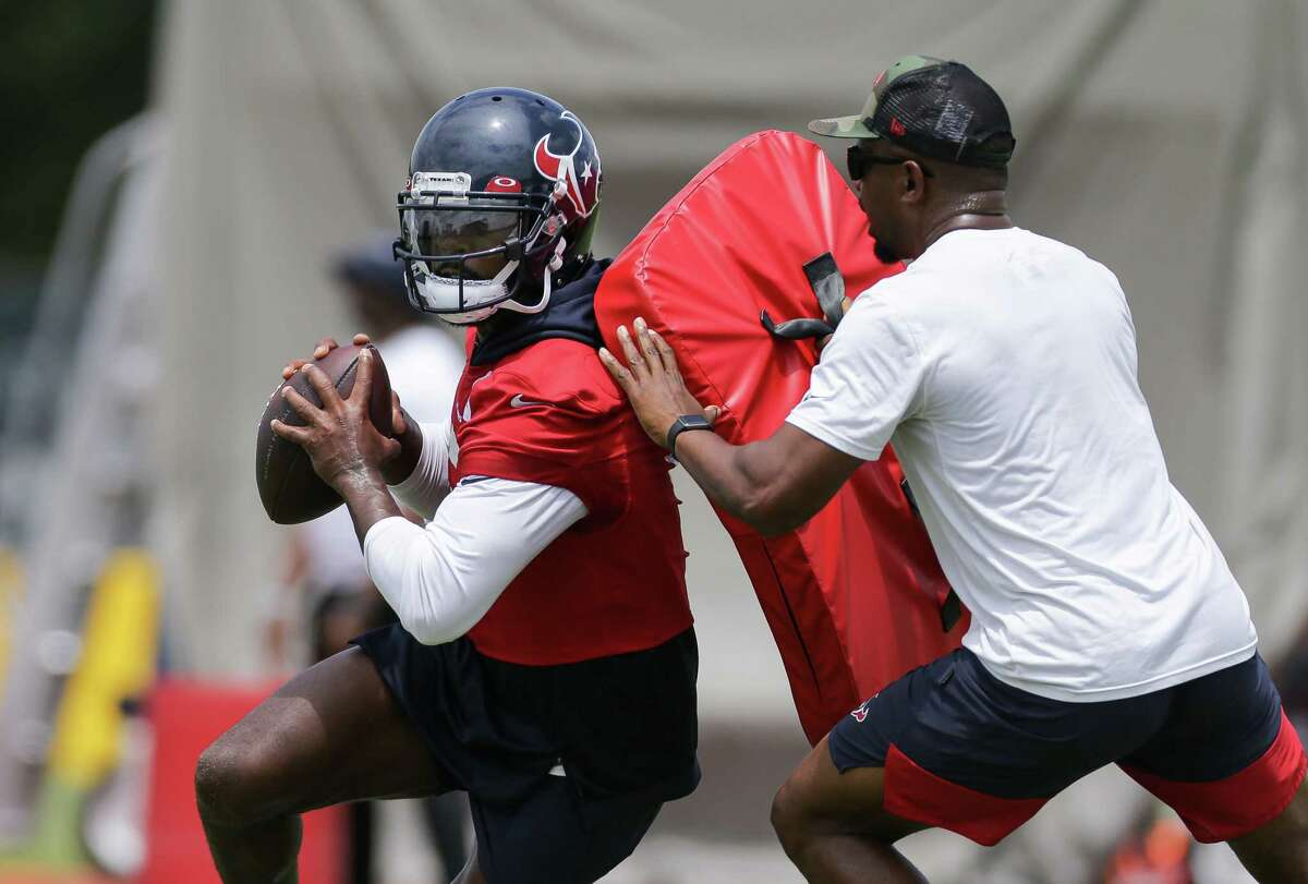Tyrod Tayor hasn't been named the Texans' starting QB yet, but all signs point to that and he's embracing the opportunity presented him.