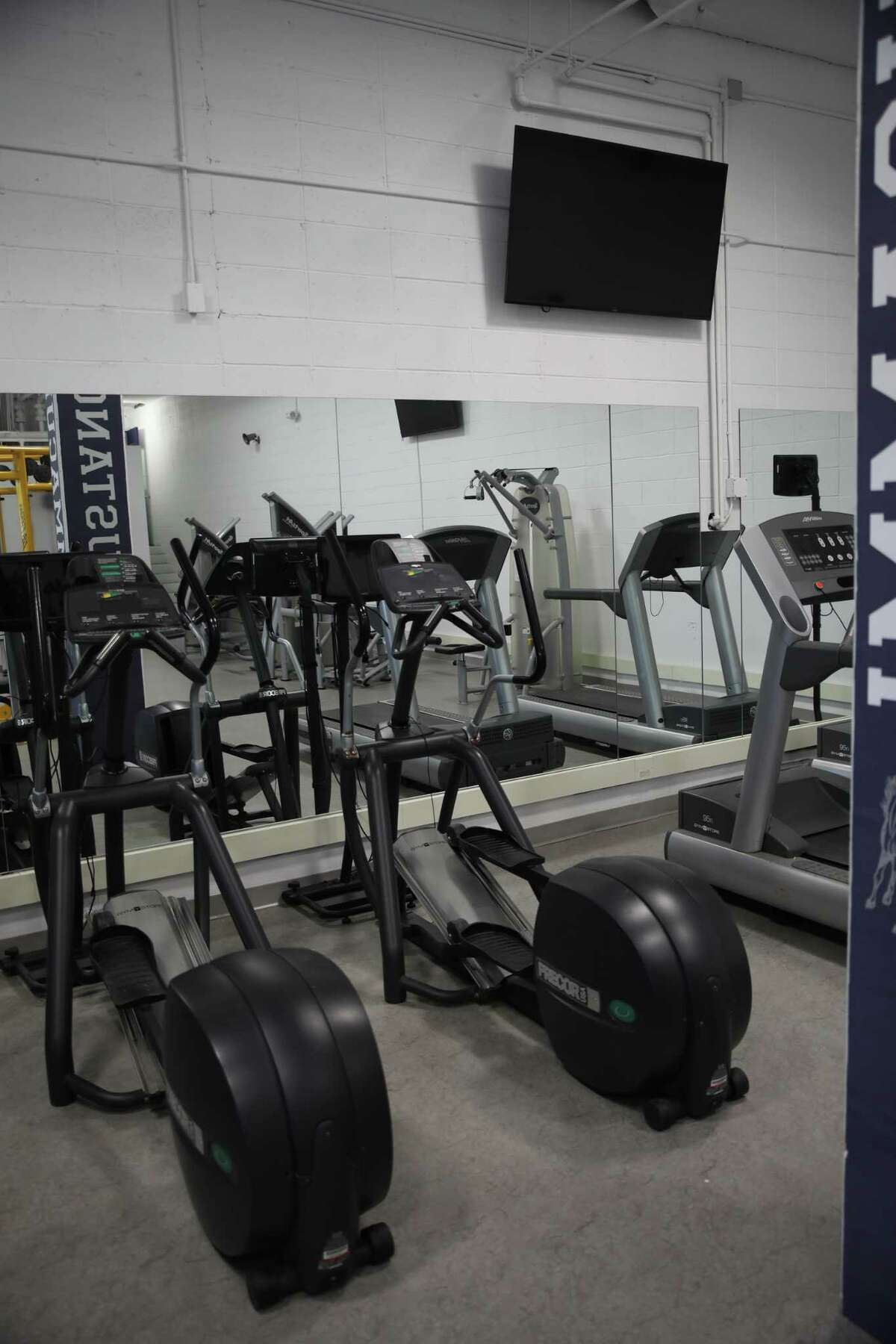 Immaculate High School unveiled a new fitness center for students, built and designed by community members.