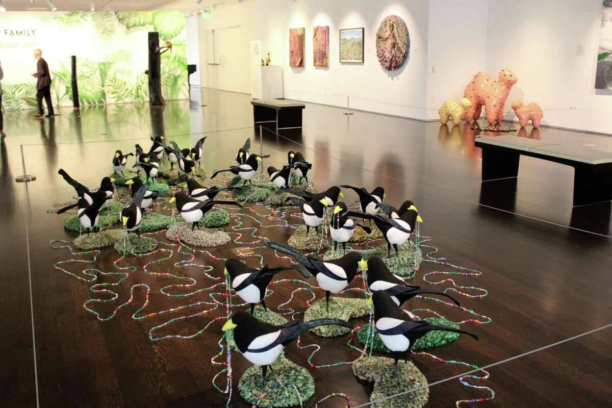 These unique pieces are among the artwork on display through Aug. 21, 2021 in the Pearl Fincher Museum's summer exhibition,