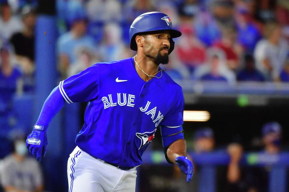 Blue Jays second baseman Marcus Semien was the American League's Player of the Month in May, becoming Toronto's first such honoree in almost six years.