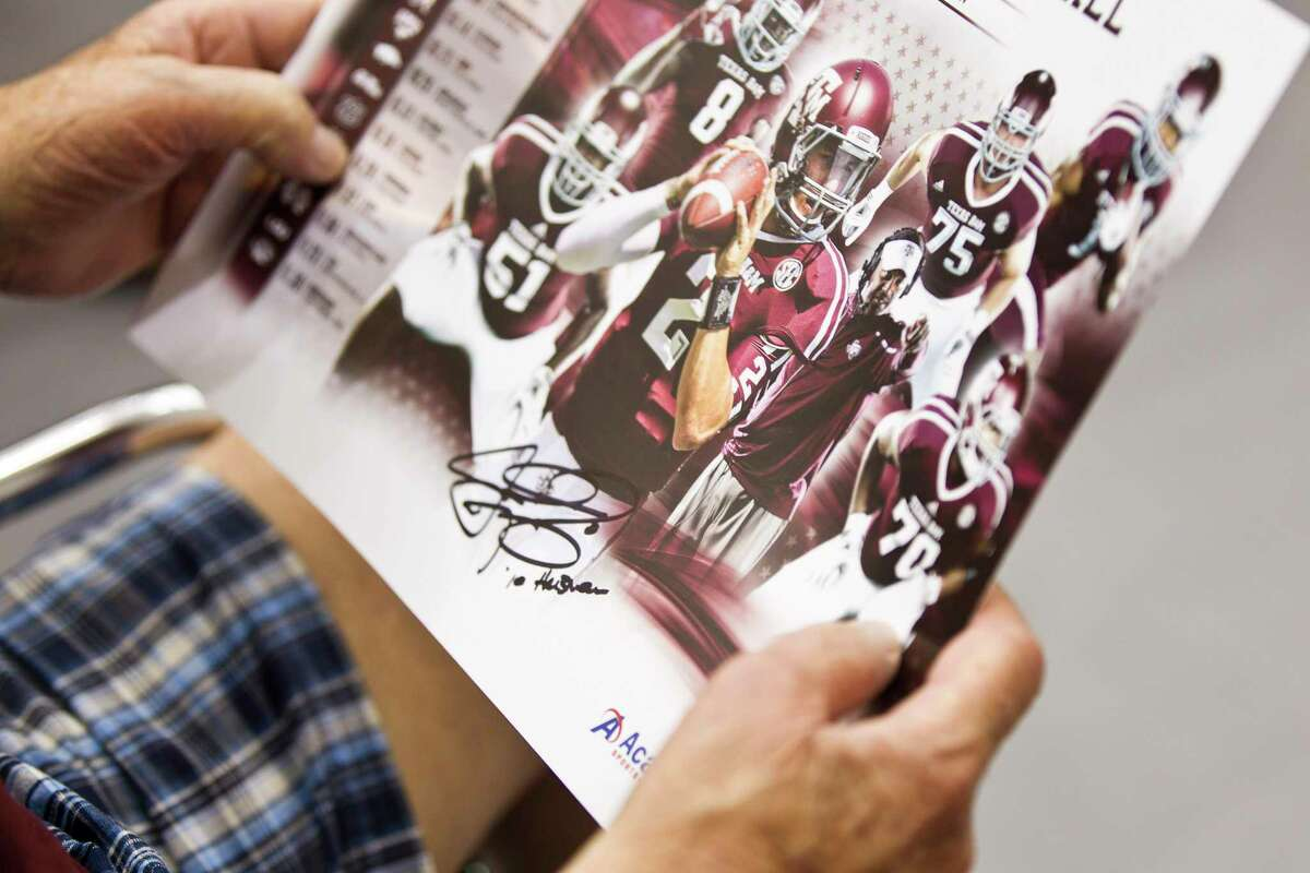 When A&M held its 'Meet the Aggies' event in 2013, fans got to get autographs from players like Johnny Manziel but the athletes received no benefit.