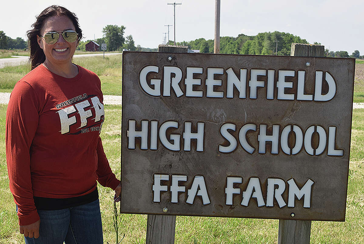 Teacher Beth Burrow said students have been working all school year to rehabilitate structures and get a farm started.