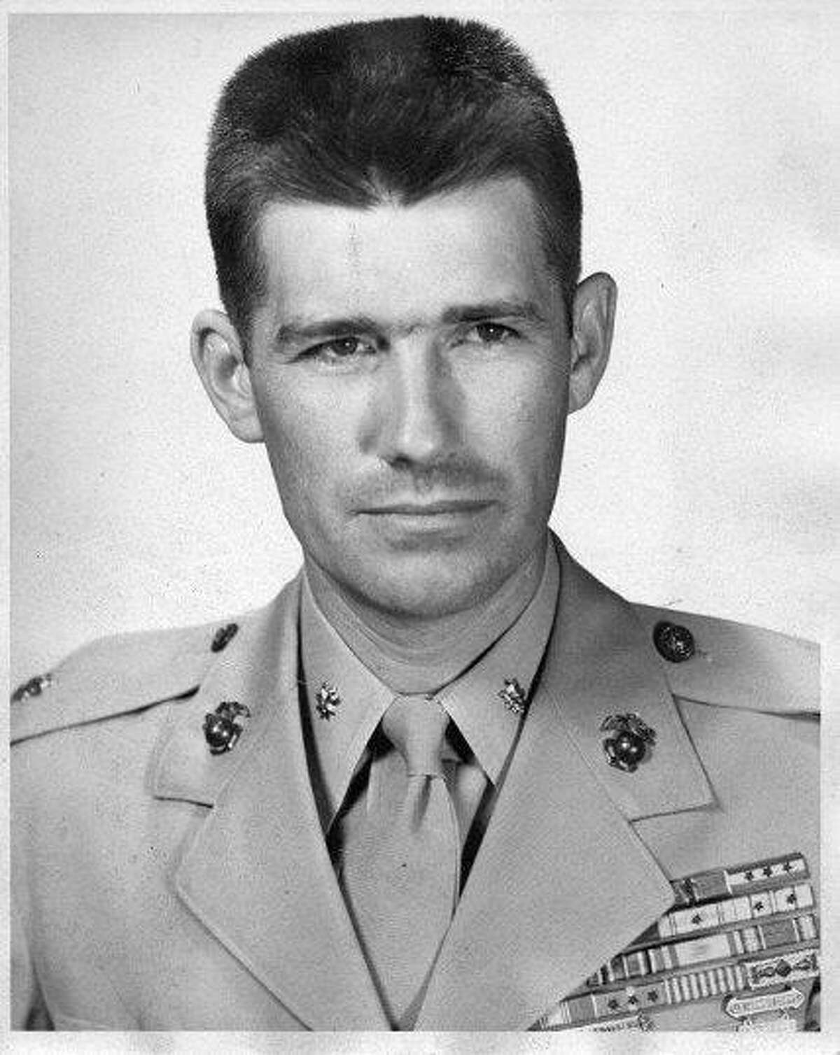 Lt. Col. John R. Stevens just before his retirement from the Marine Corps in 1962.