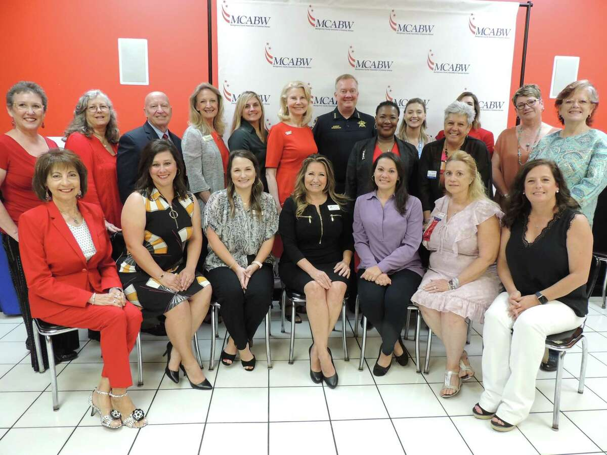Members of the Montgomery County Area Business Women's organization are pictured.