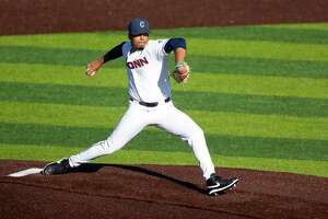 Andrew Marrero, a Wilbur Cross grad, is the first New Haven public school product to play for UConn baseball team in decades.
