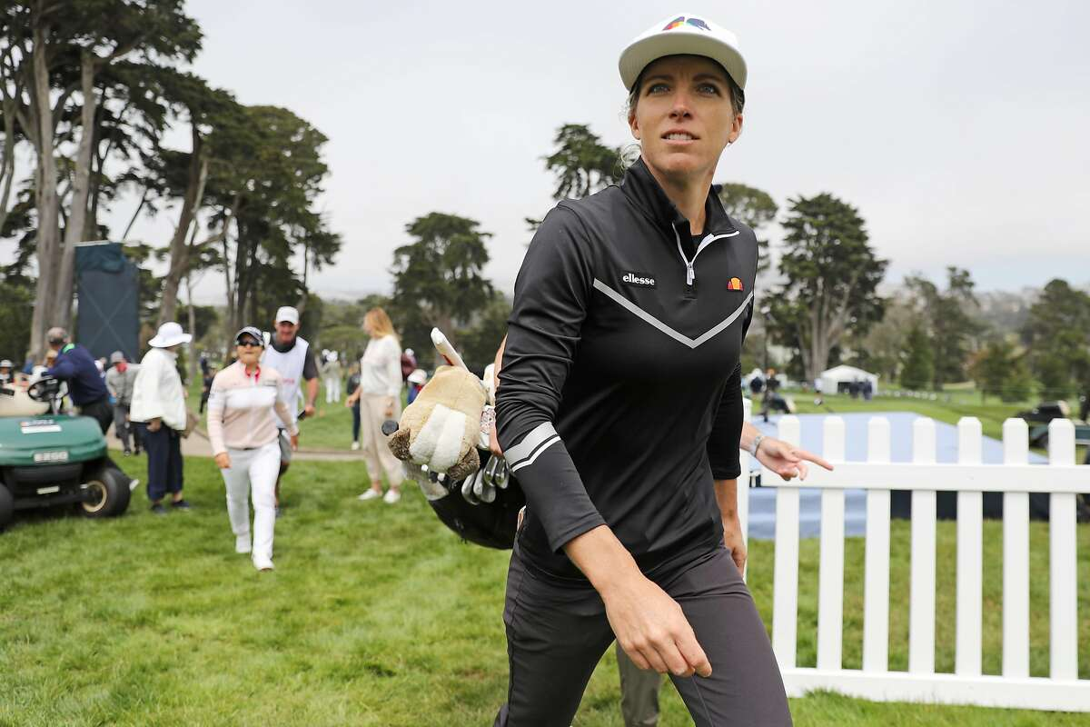 Mel Reid during the first round of the 76th U.S. Women's Open Championship at the Olympic Club, Thursday, June 3, 2021, in San Francisco, Calif.