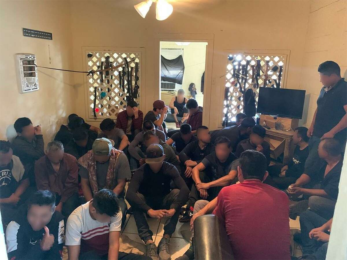 U.S. Border Patrol agents along with the Laredo Police Department busted three stash houses and detained more than 180 migrants.