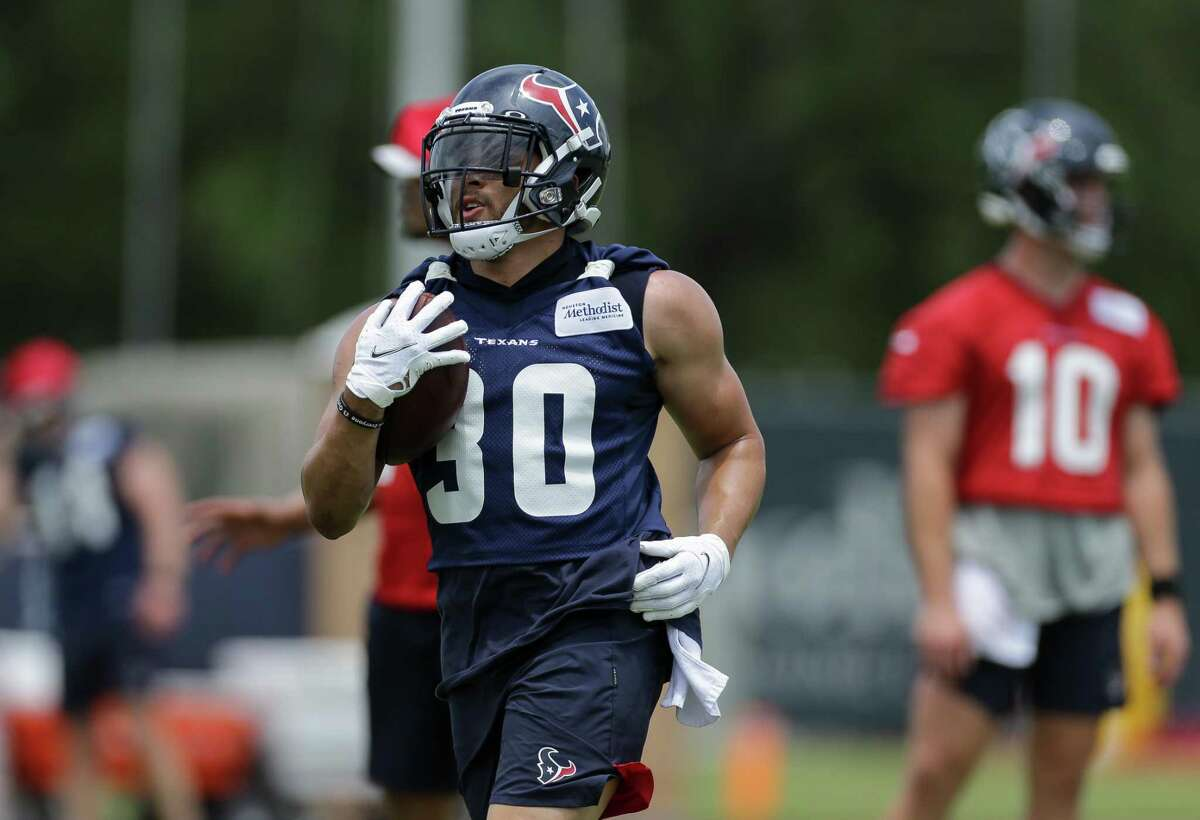 Phillip Lindsay, formerly a 1,000-yard rusher in Denver, signed with the Texans as a free agent this offseason.