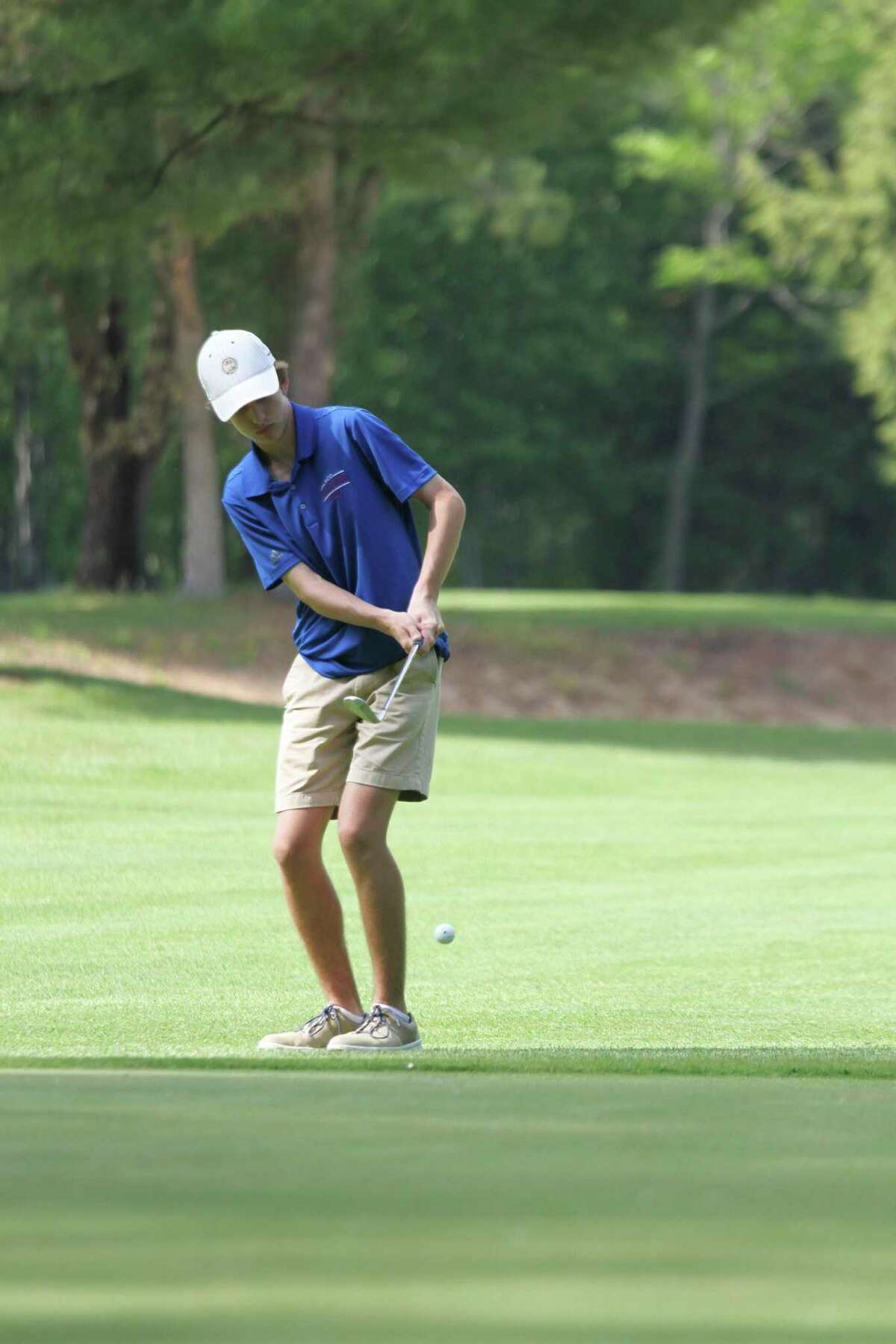 Manistee Catholic Central's Alex Shriver qualified for the Division 4 state finals with his performance in Thursday's regional. (News Advocate file photo)