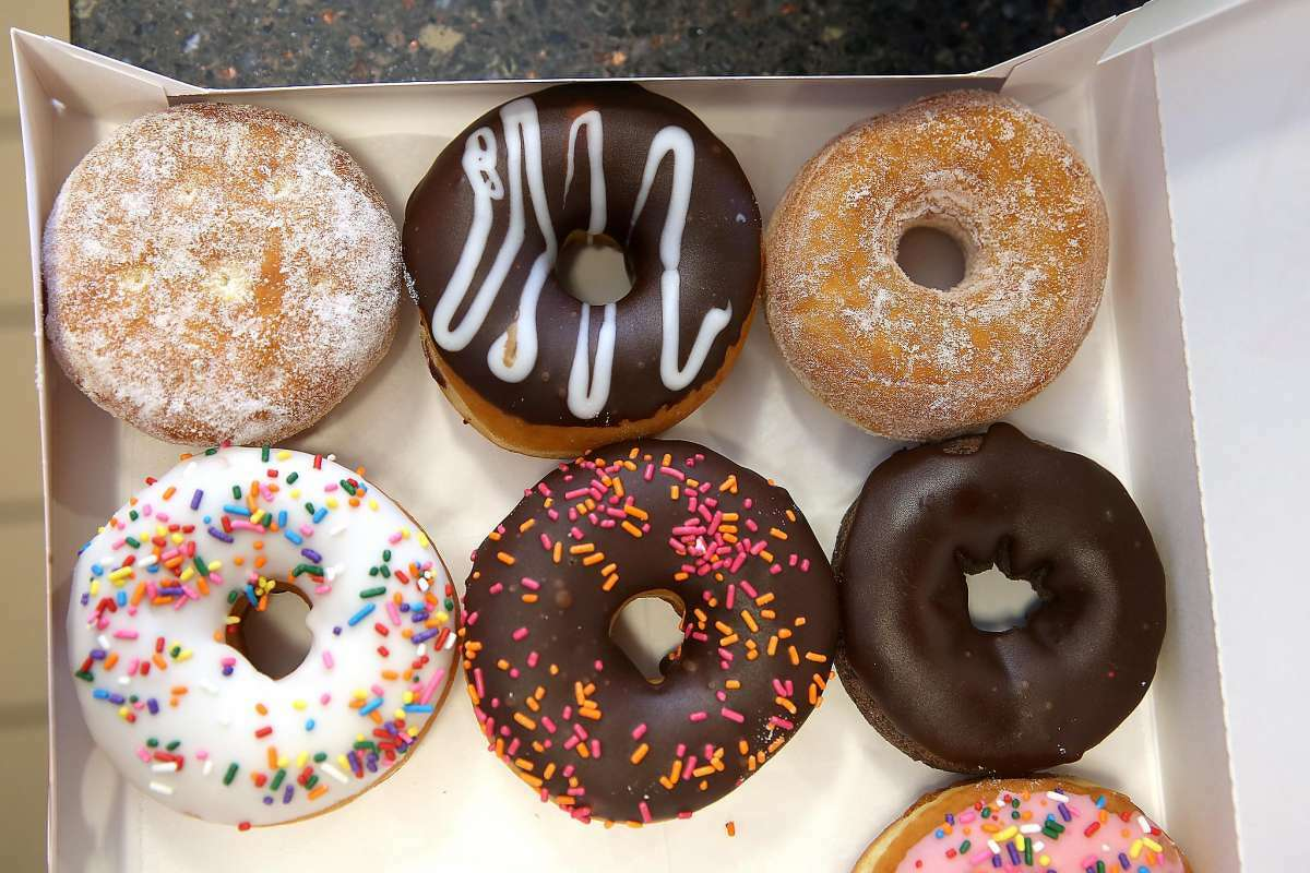 Indulge in a free donut today, National Donut Day.