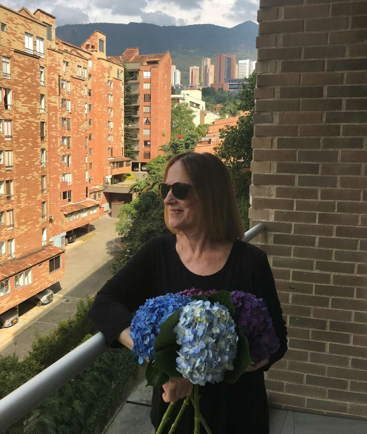 Kathryn Twomey in Medellin, Colombia. It was one of the few countries she and her husband, John, visited twice. (Provided photos.)