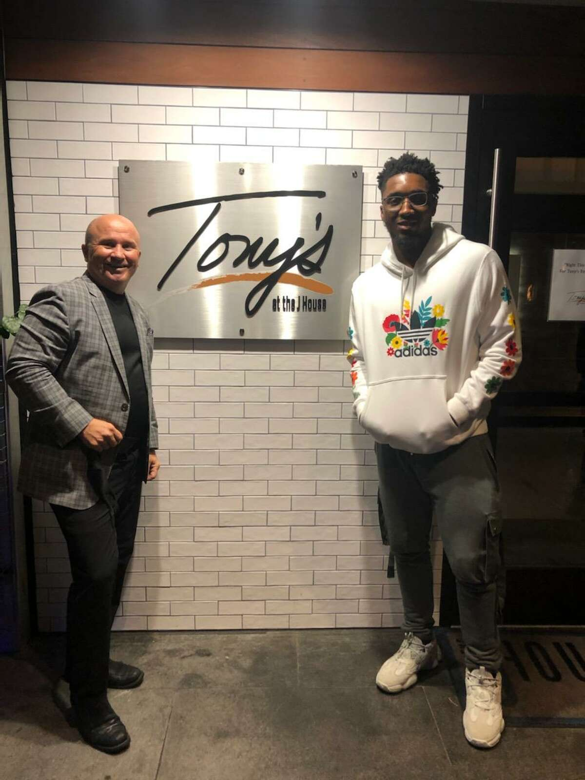 NBA player Donovan Mitchell of the Utah Jazz at JHouse in Greenwich on Oct. 21, 2020.