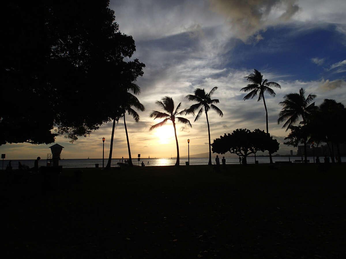 The stabbing took place by Kuhio Beach.