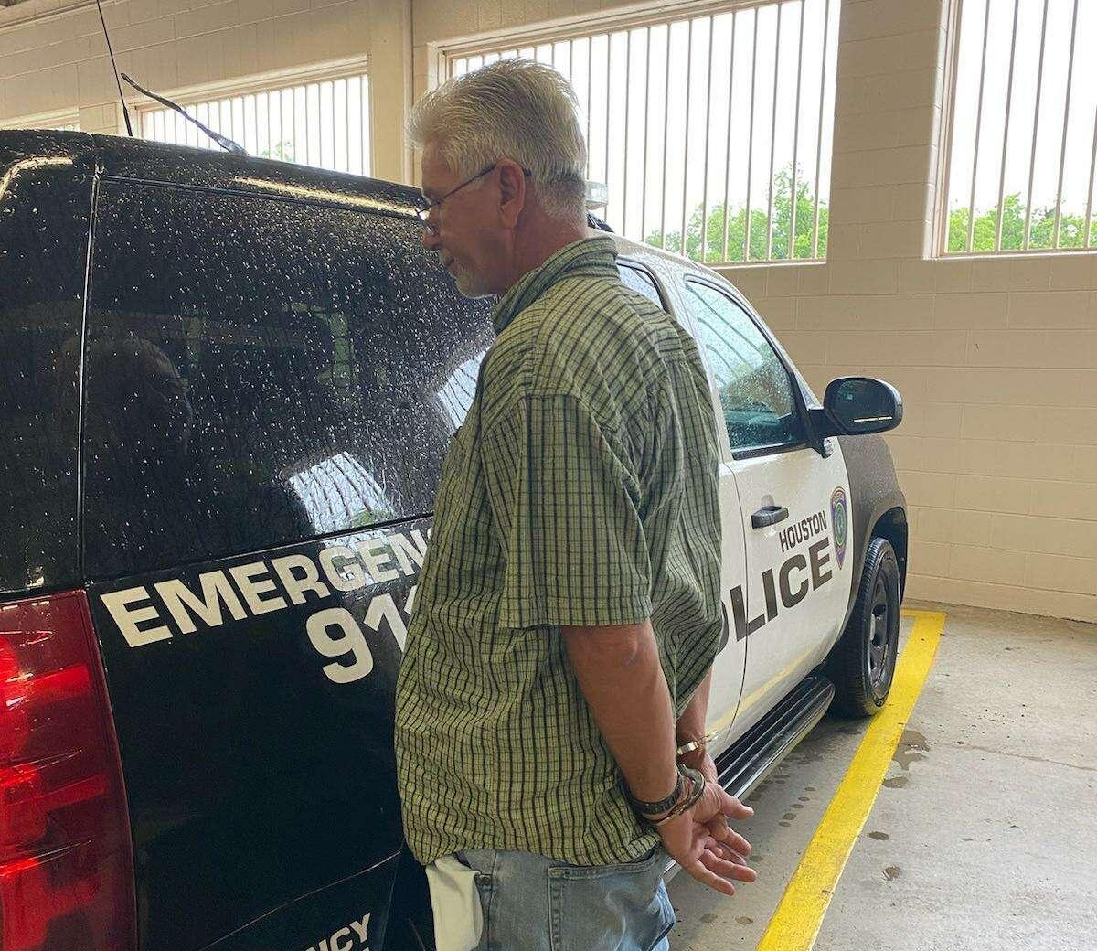 Gary Wayne George is taken into custody by the U.S. Marshals Office on May 19, 2021.