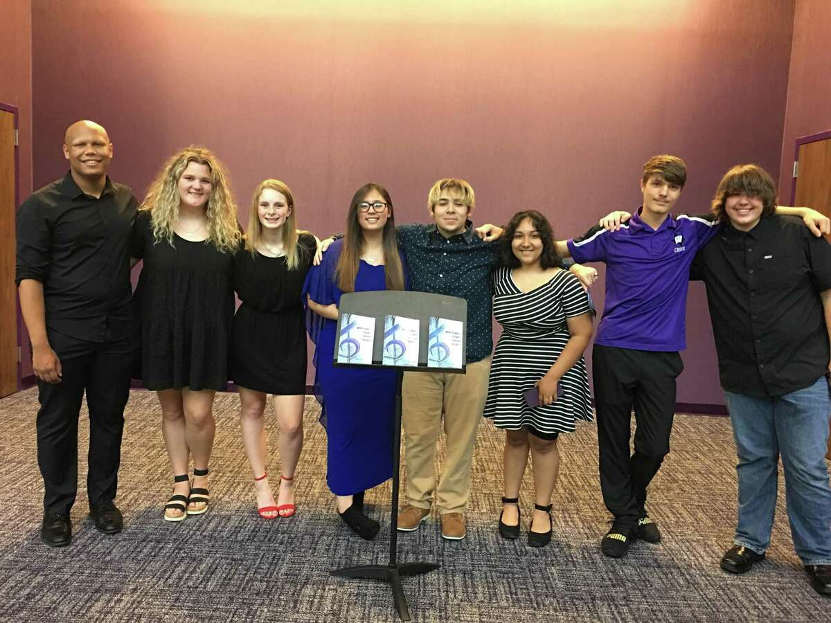 Members of the Willis High School Choir participated in the Montgomery County Choral Society's