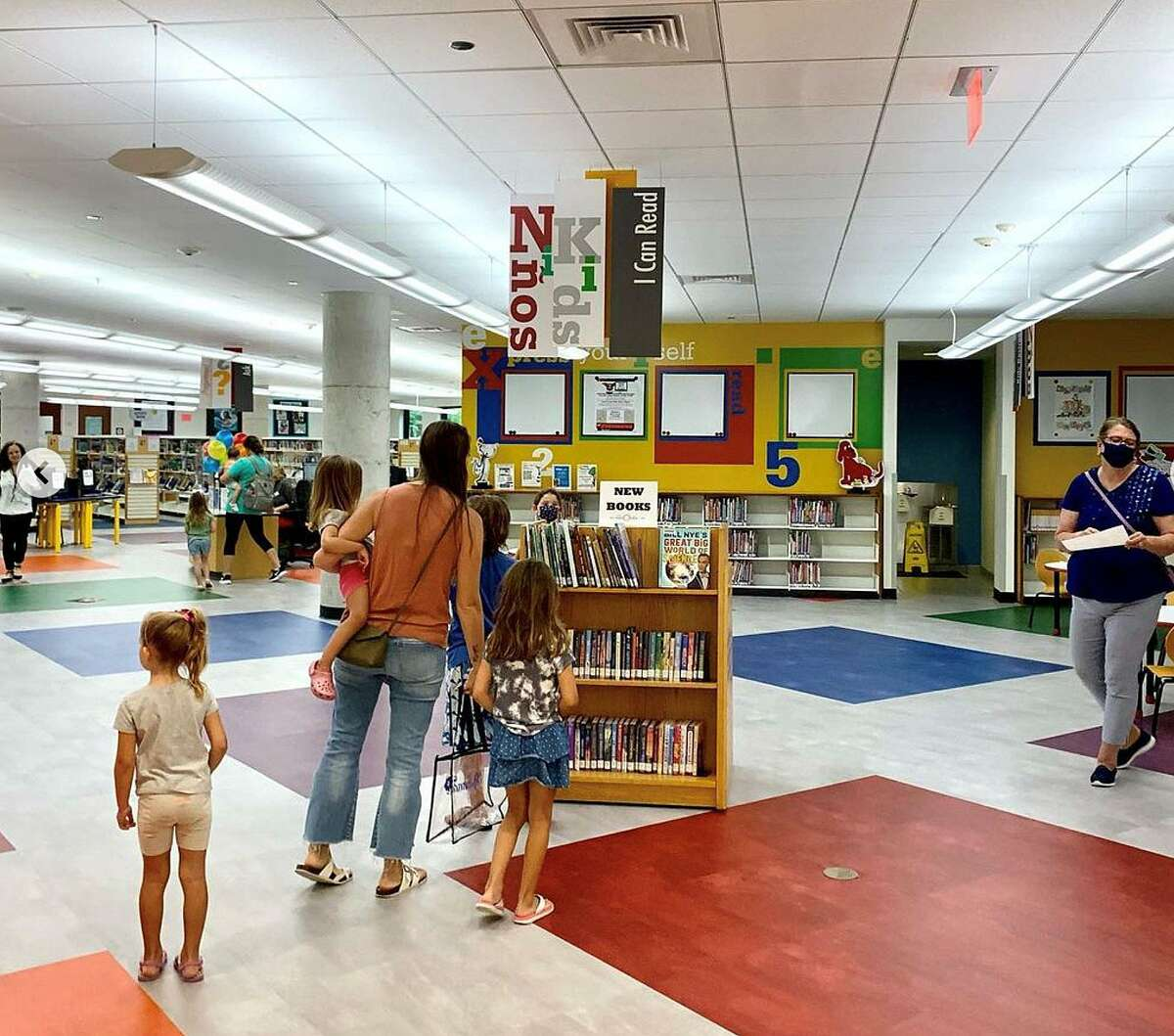 A little bit of wonder and awe as families reacquaint themselves with their local libraries. Harris County Public Libraries recently reopened to the public.