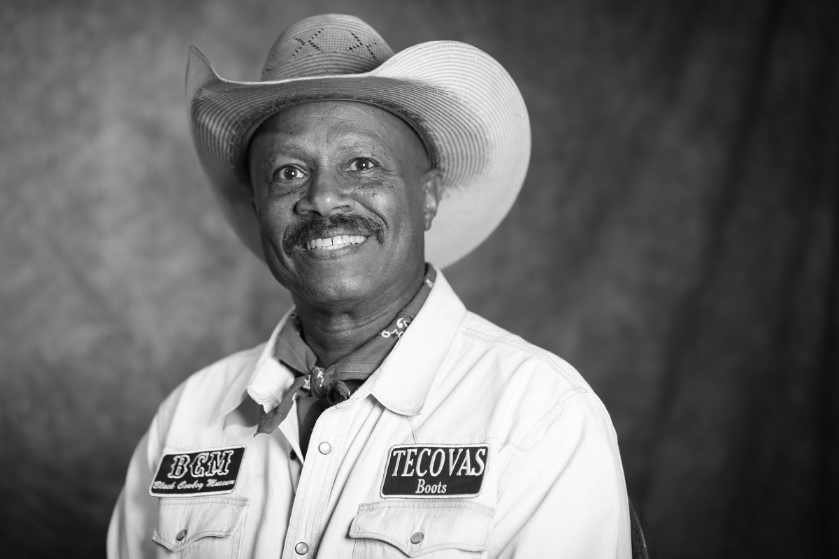 Larry Callies, founder of the Black Cowboy Museum, in Rosenberg on Thursday, May 20, 2021.