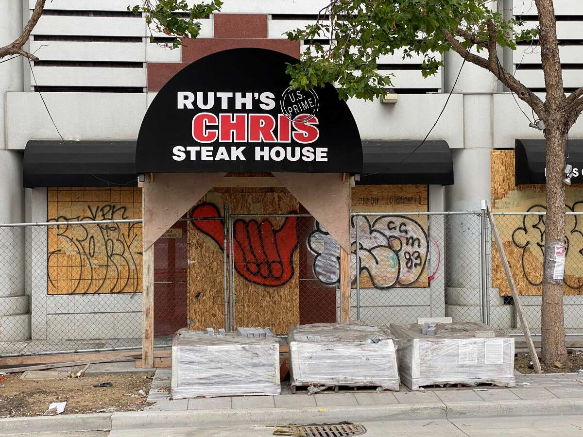 Ruth's Chris Steakhouse in San Francisco has closed permanently.
