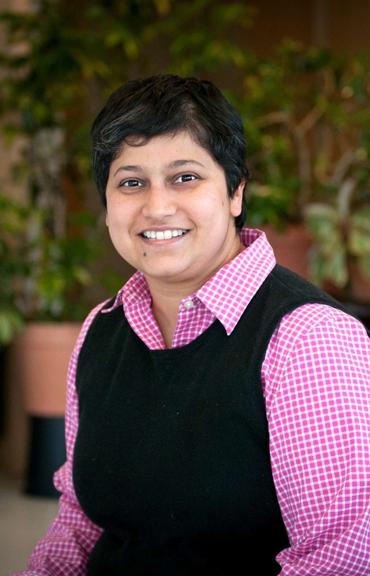 Minita Sanghvi is the Democratic candidate for Commissioner of Finance in Saratoga Springs.