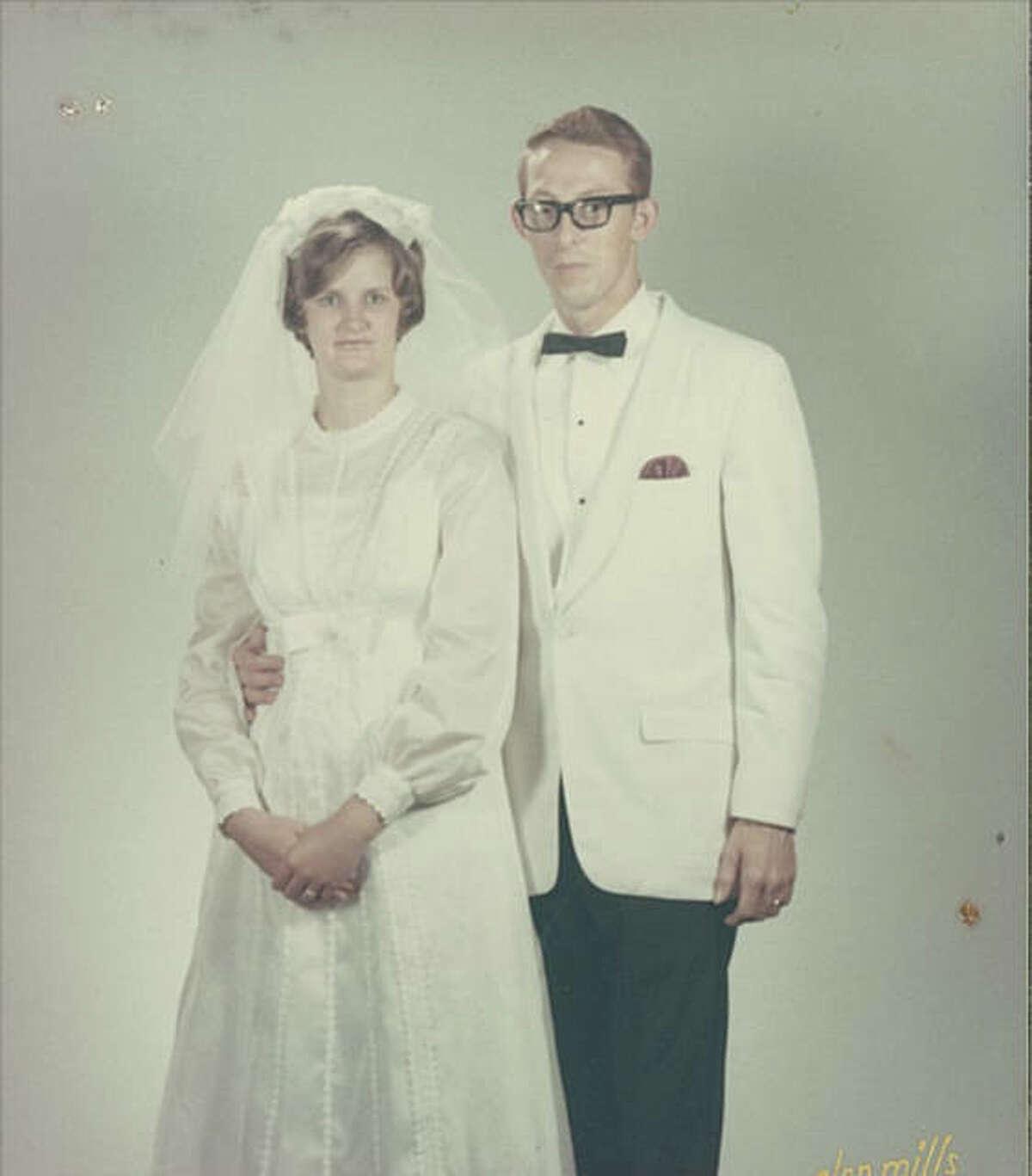 Benjamin and Arlene Bickett at their wedding