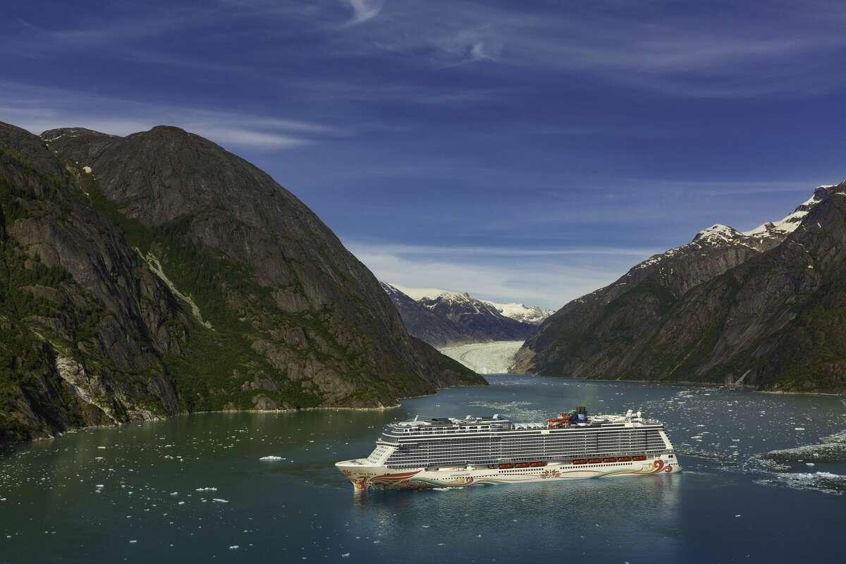 Norwegian Joy sailing in Alaska