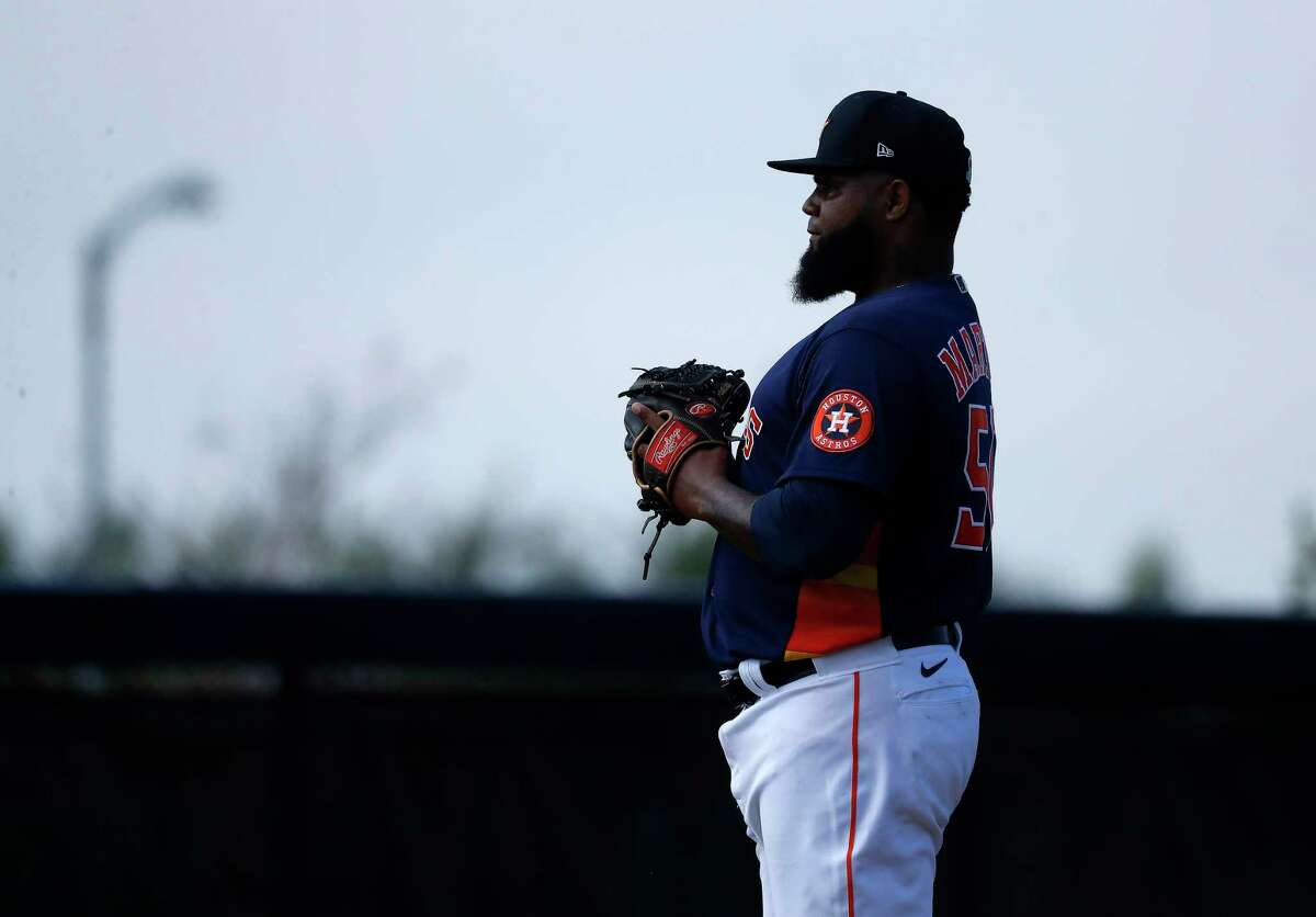 Astros pitcher Francis Martes is eligible for reinstatement June 19.