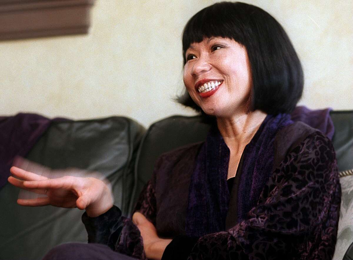 Author Amy Tan talked about her book