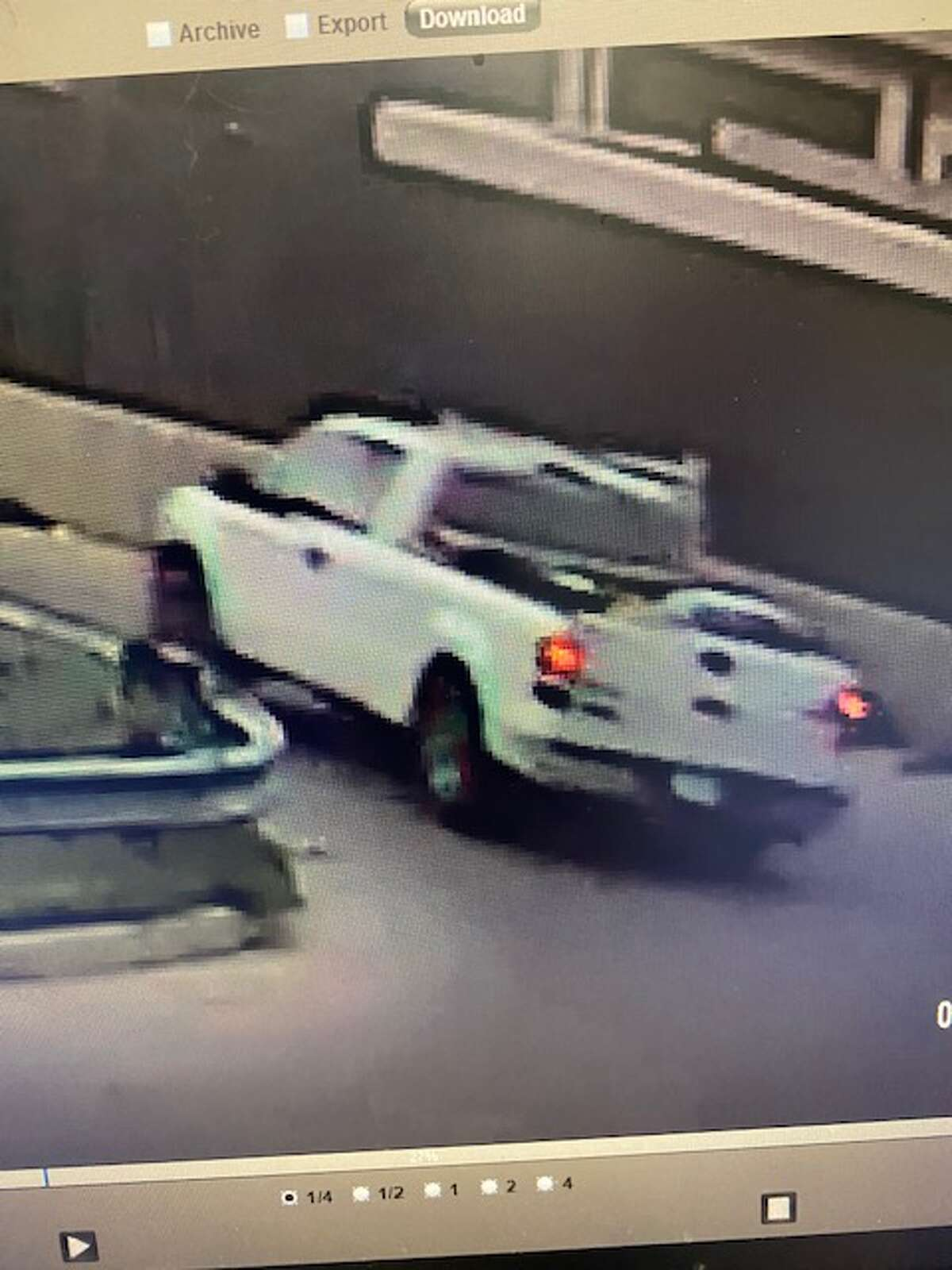 Midland police are looking for a vehicle involved in an accident with a pedestrian late Wednesday. The actor vehicle was last seen traveling south on Midland Drive near Cuthbert and is described as an older model white Ford F-150 with a white headache rack and a toolbox in the truck bed.