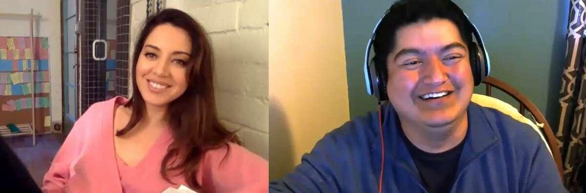 Film critic Kiko Martinez interviews actress Aubrey Plaza about her new film,