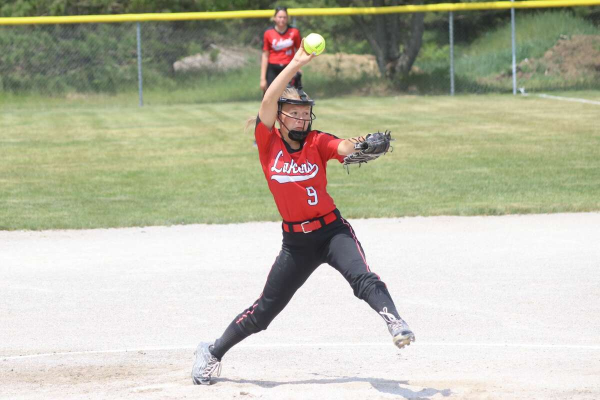 Bear Lake faces Mesick in softball districts on June 4.