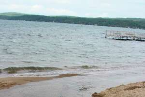 The Village of Beulah has gotten a grant to help improve stormwater runoff systems to help prevent outbreaks of E.coli at Beulah Beach. (File Photo)