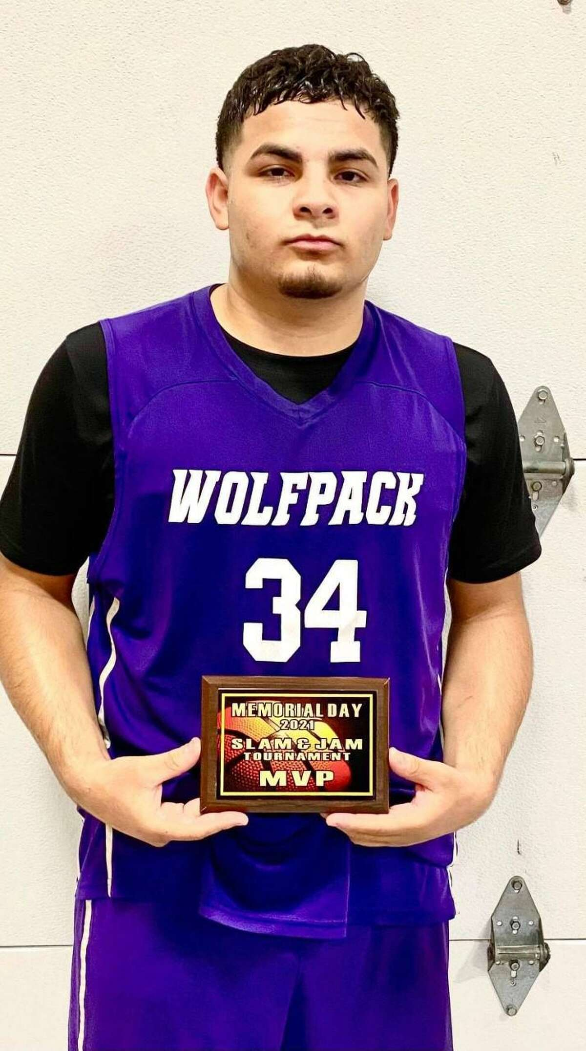 LBJ's Juan Navarro was named the Most Valuable Player in the Memorial Day Classic Slam and Jam Tournament.