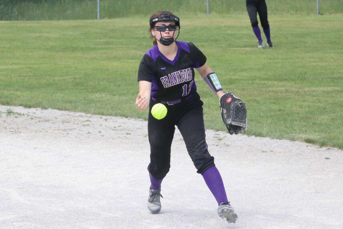 Frankfort competes in softball districts at Brethren on June 4.