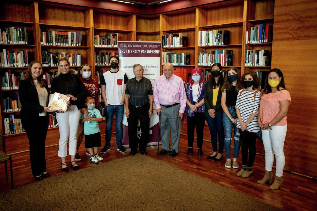 Students enrolled in the Multilingual Children's Literature course this past Spring 2020 semester crafted a series of children's books that will be used by student tutors involved in the TAMIU-Lamar Bruni Vergara Literacy Partnership.