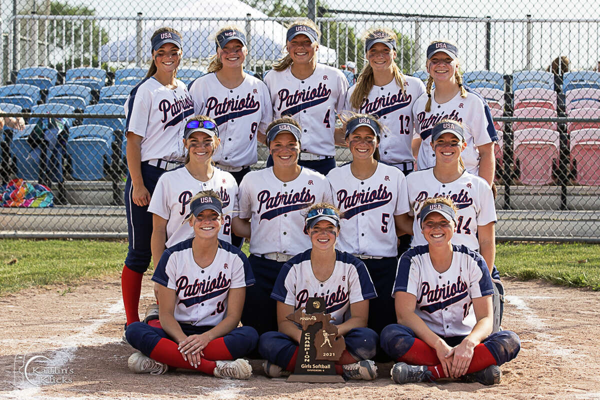 The defending state champion Unionville-Sebewaing Area varsity softball team claimed a district championship with a 22-0 victory over Owendale-Gagetown on Friday in Sebewaing.