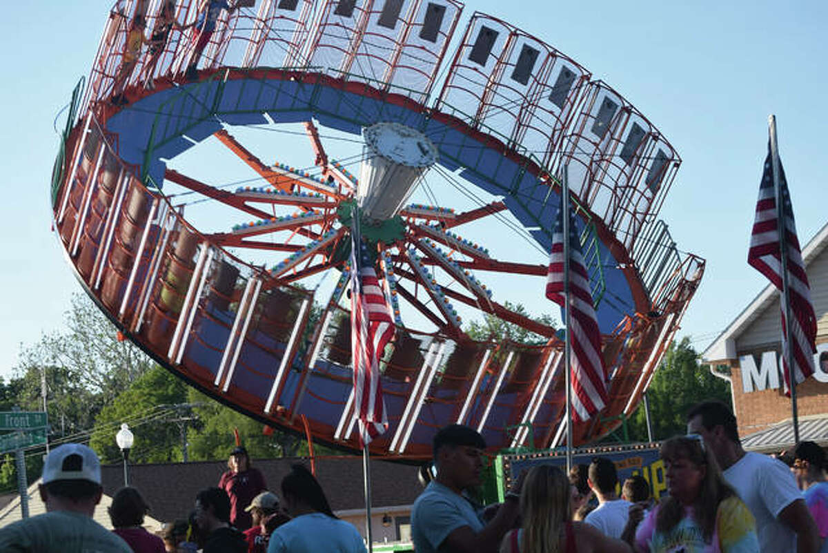 The Virginia Bar-B-Que will continue through Sunday with rides, games, food and entertainment.