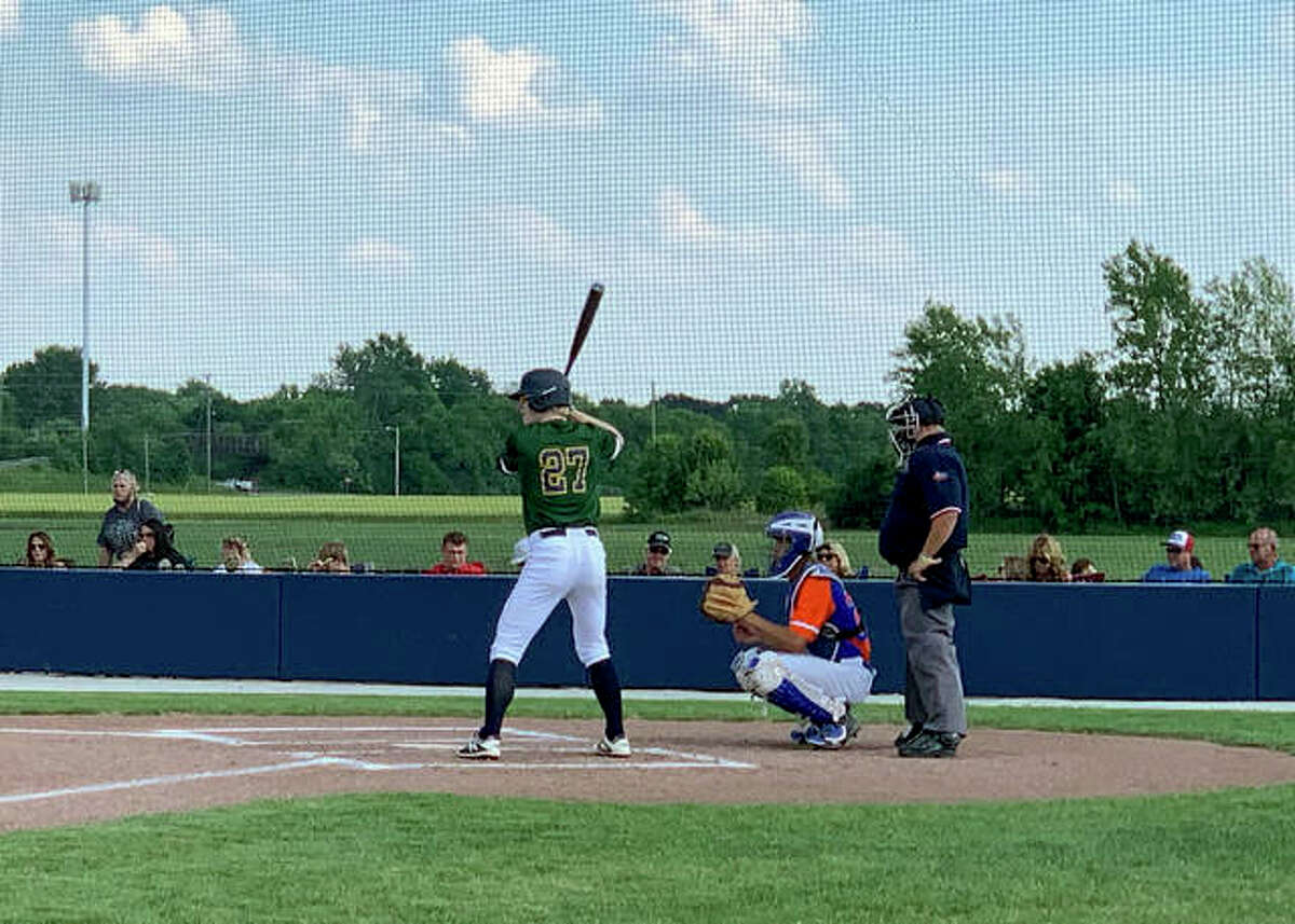 Father McGivney's Matthew Gierer hit a two-run home run in the second inning.
