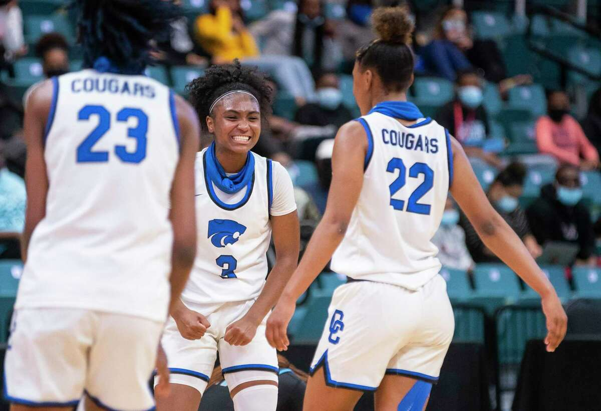 Cypress Creek senior guard Rori Harmon was named the 2020-2021 Gatorade Texas Girls Player of the Year. Harmon helped lead the Cougars to their third UIL state tournament appearances in four years in March and was also named Miss Basketball by the Texas Association of Basketball Coaches.