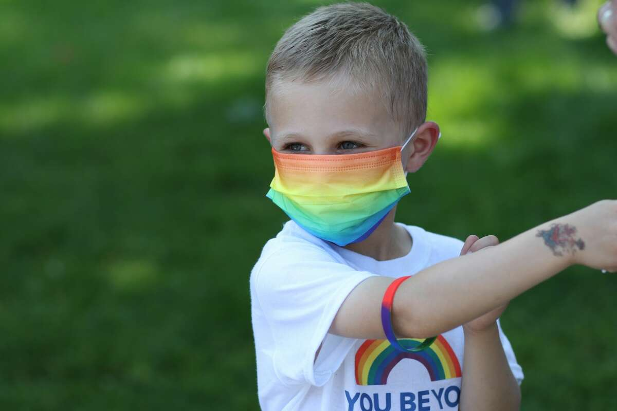 Westport's first-ever Pride Month included a rally at Jesup Green on June 5, 2021. The event included speakers, performers and a pride flag raising. Jim Marpe, Westport's Selectman, issued a proclamation declaring June Pride Month in Westport. Were you SEEN?