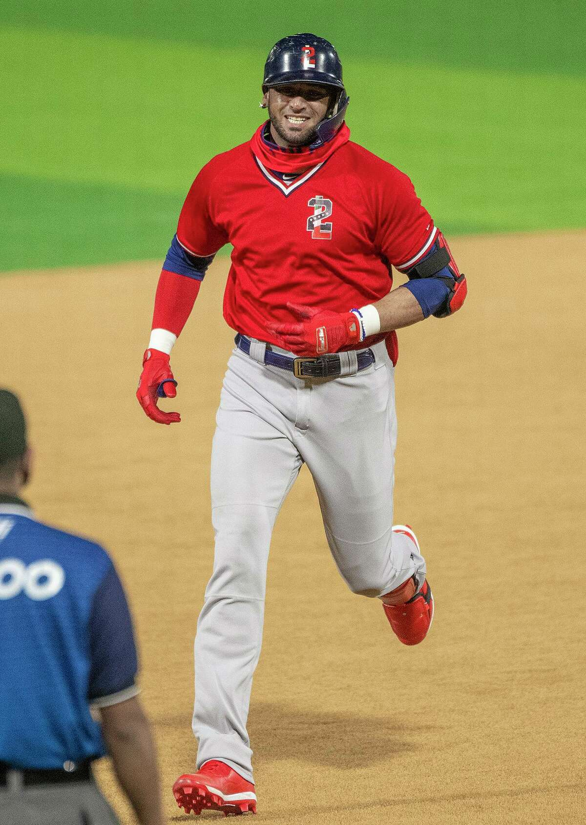 The Tecolotes Dos Laredos released starting outfielder Paulo Orlando, pictured, and pitcher Jose Oyervides on Friday.