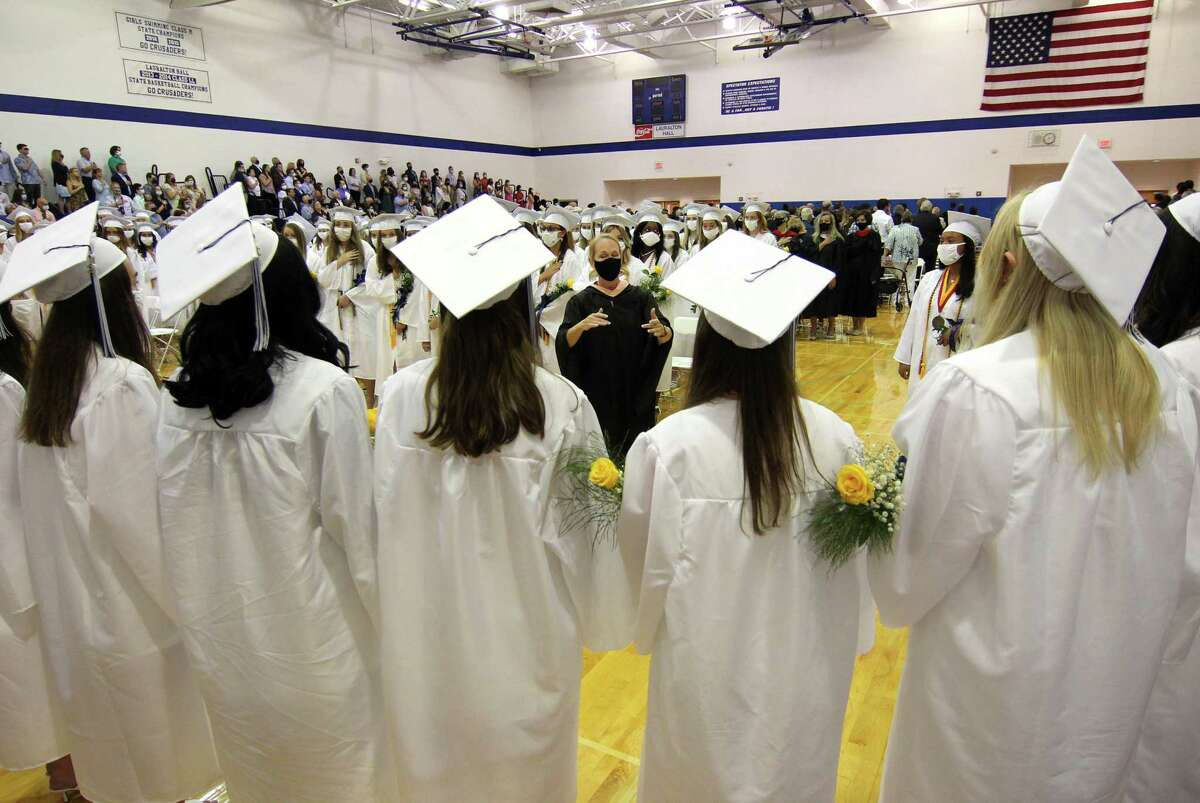 Lauralton Hall's Class of 2021 Graduation in Milford, Conn., on Saturday June 5, 2021.