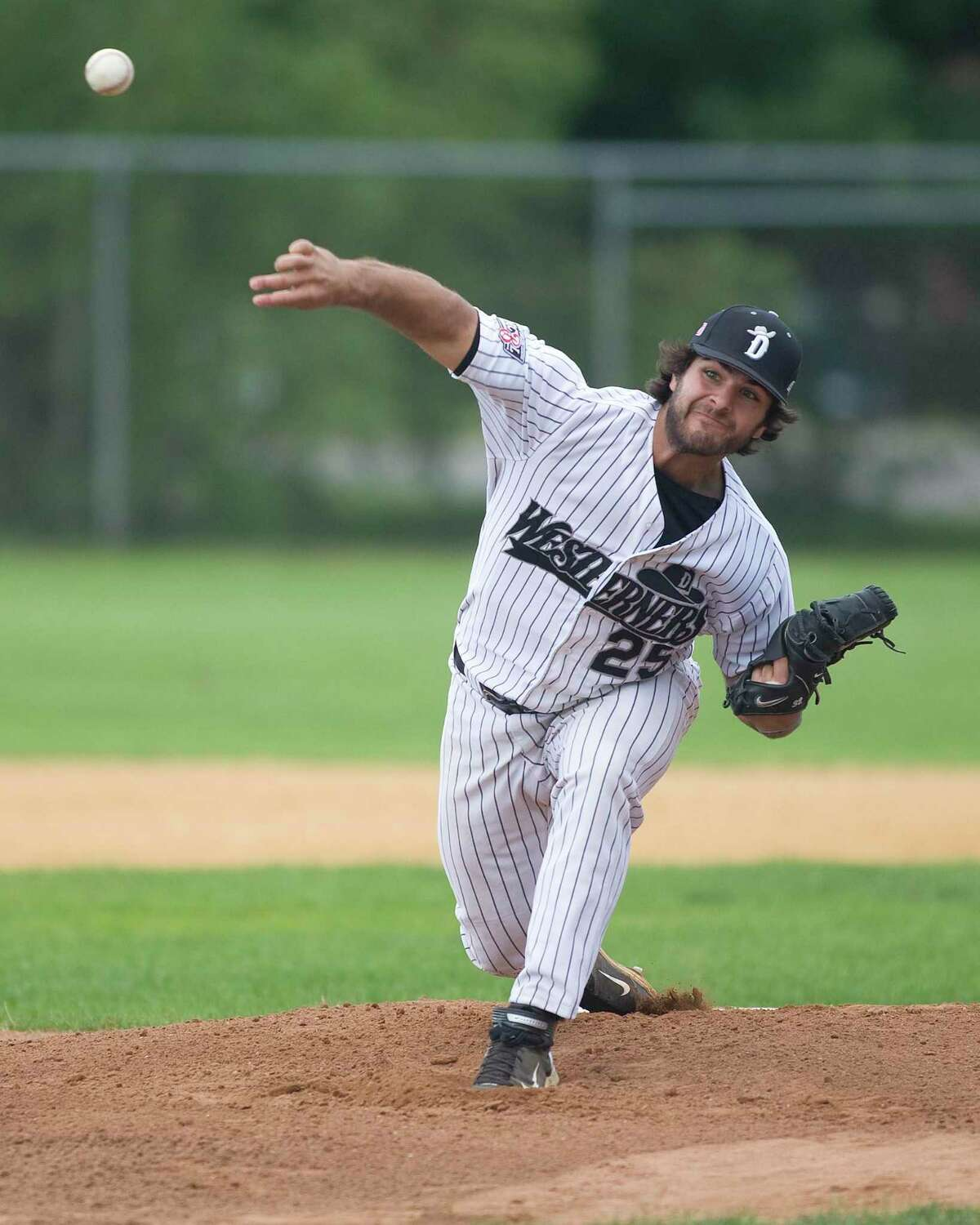 Former Danbury Westerner Mike Ford is currently in the big leagues as a first baseman with the New York Yankees.
