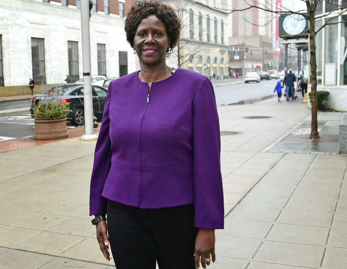 Sen. Patricia Billie Miller, Democrat from Stamford, joined the Senate in a special election in early 2021.