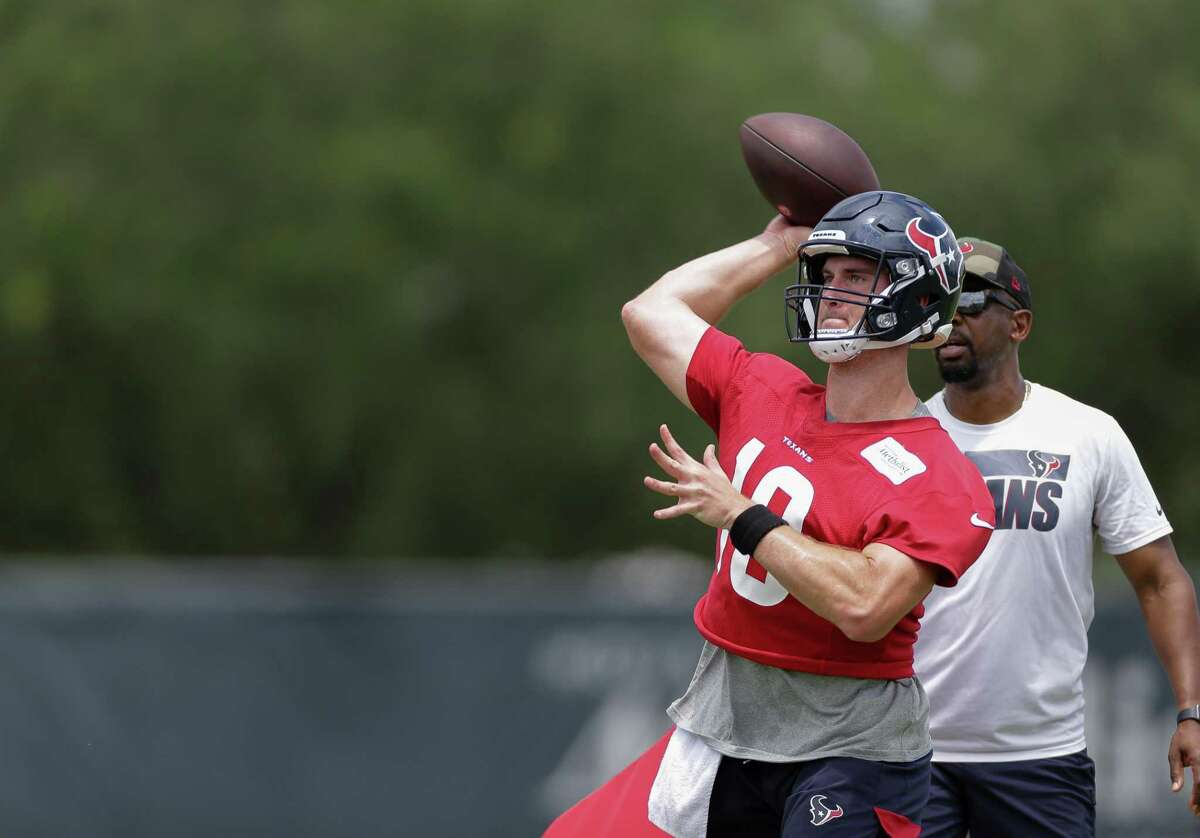 Texans rookie Davis Mills is taking it all in as he works to be Houston's quarterback of the future.